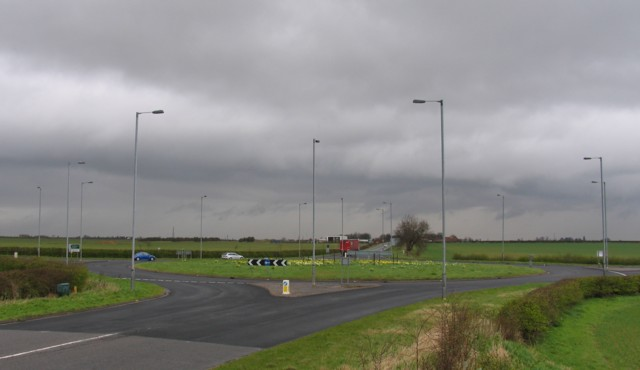 A52/B6403 roundabout junction