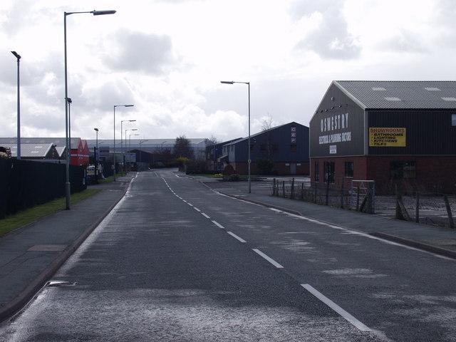 Maes-y-clawdd industrial estate, Oswestry