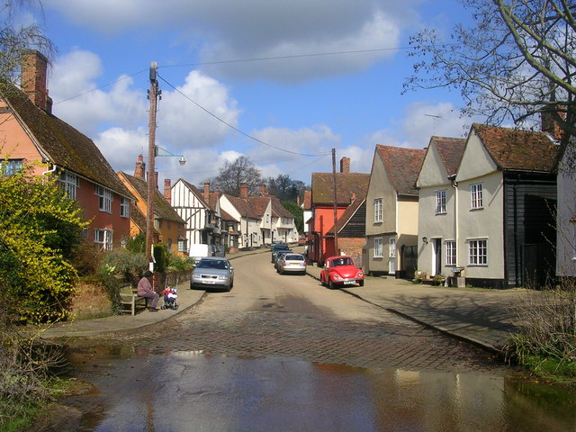 Ford at Kersey, Suffolk