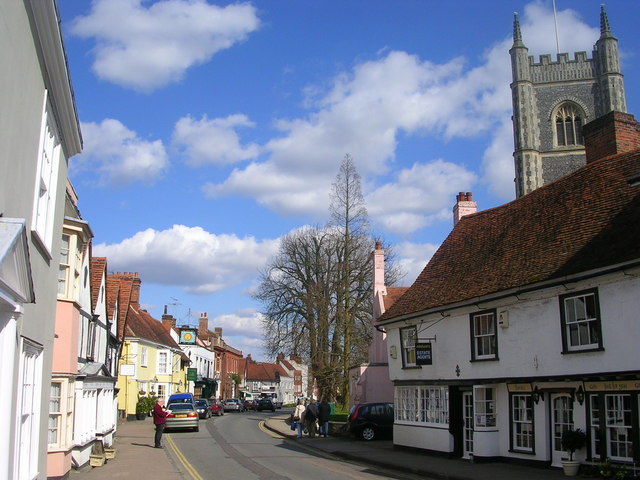 Dedham Village Centre, Essex