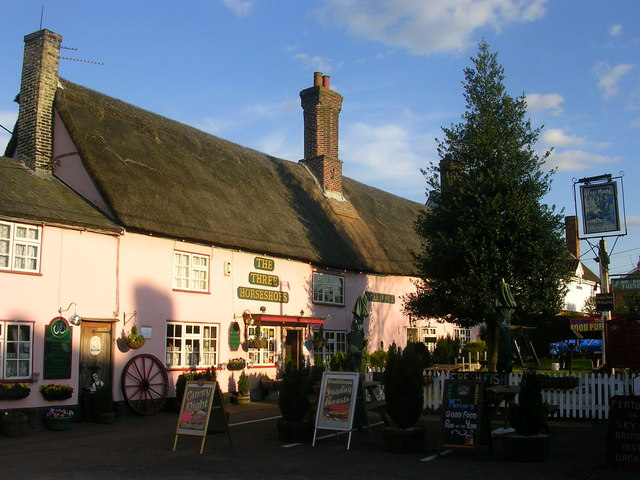 Three Horseshoes, Stow's Hill, Suffolk