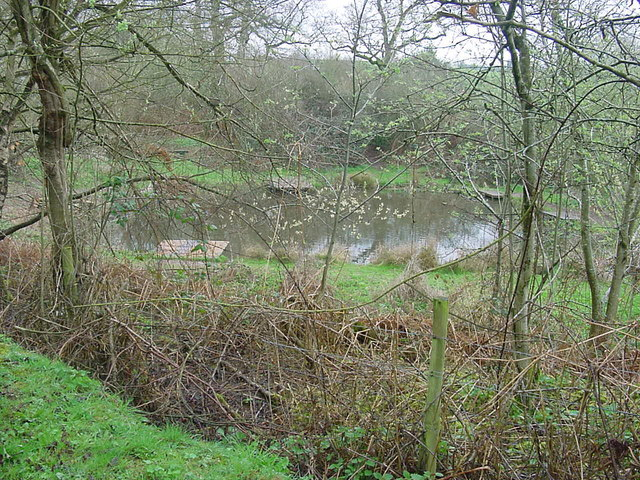 Dipping pond in the Plump Hill Environmental Centre Reserve