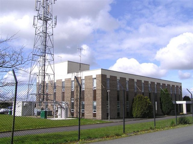 Northern Ireland Electricity, Omagh:: OS grid H4872 :: Geograph ...