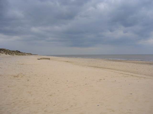 Beach at Hemsby, Norfolk