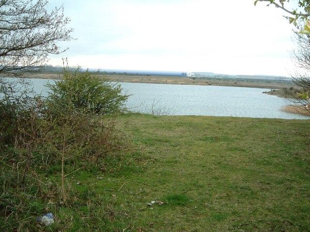 Lake off Hardwick Hill