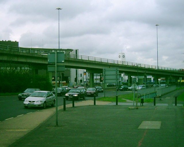 A3 off ramp flyover