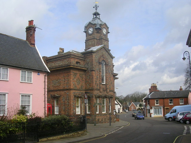 Eye Town Hall, Suffolk