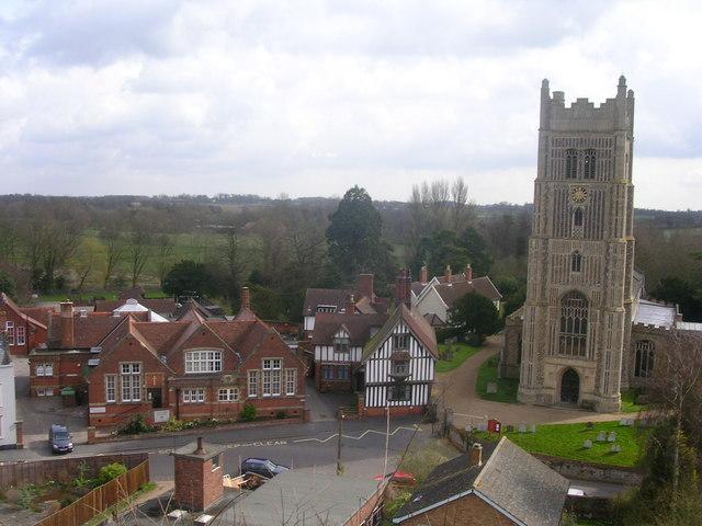 Church and Guildhall, Eye