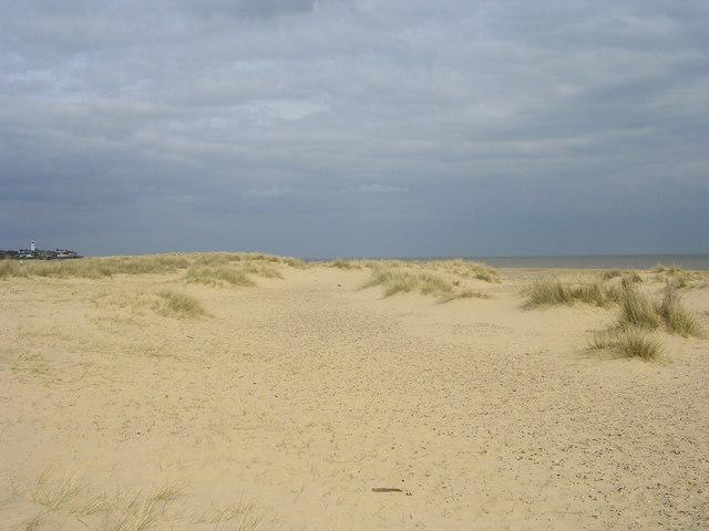 Sand dunes near Southwold