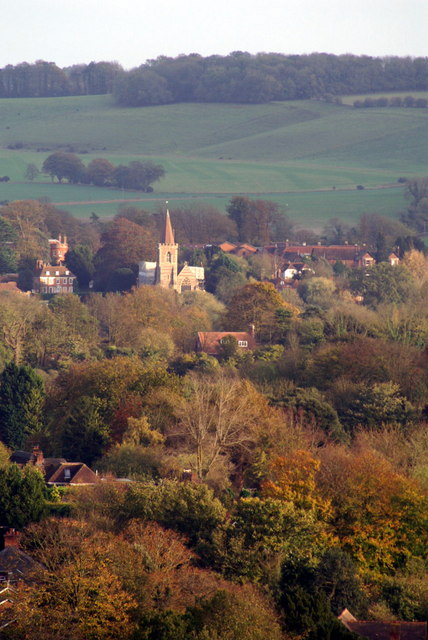 Twyford from Hurdle Way