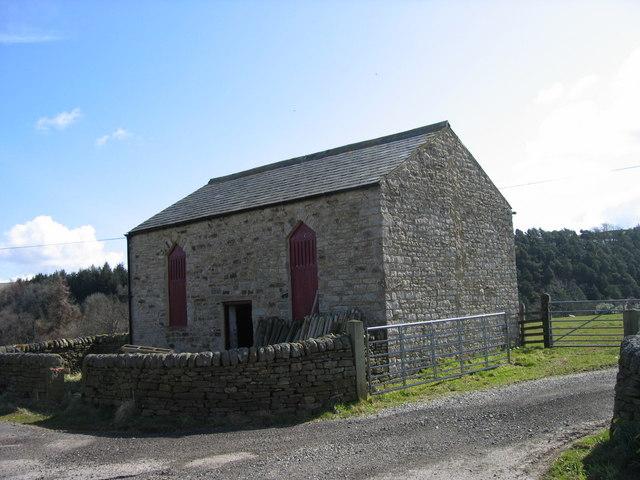 Barn near Pry Hill Farm