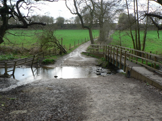 Ford, Bardsey Beck by Hetchell Wood