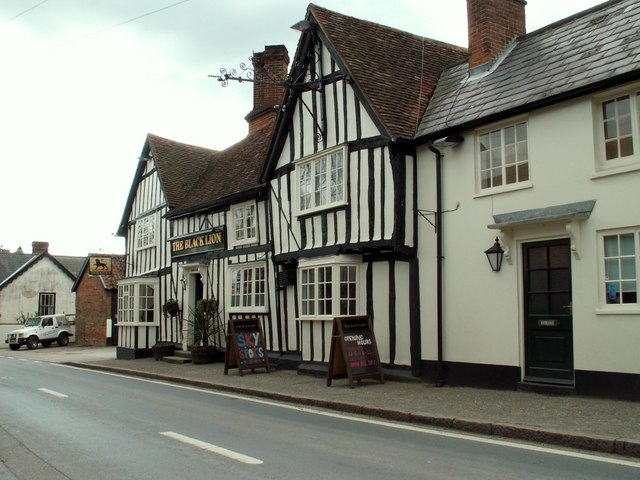 'The Black Lion' inn, High Roding, Essex