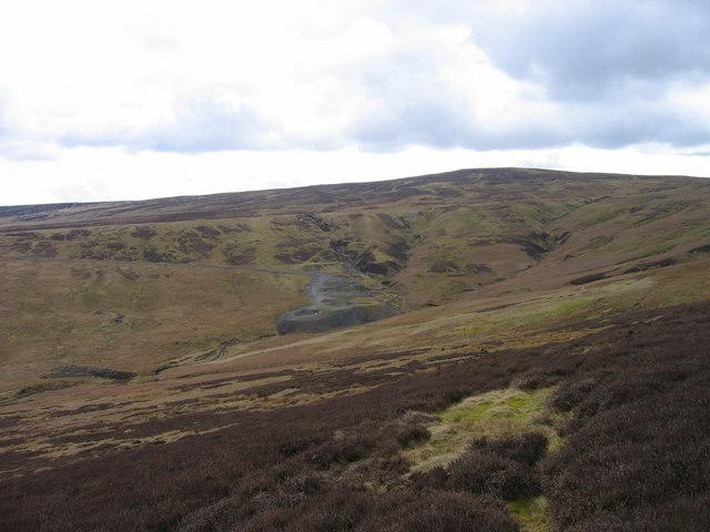 Swinhope Moor mine workings and spoil heaps (disused)