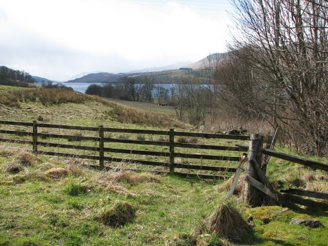 View from Ardtalnaig