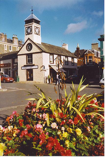 Clock Tower,  Moffat