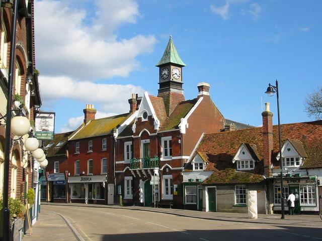 Town Hall Fordingbridge Hants