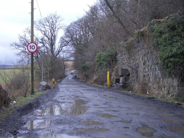 Murrayshall Quarry entrance