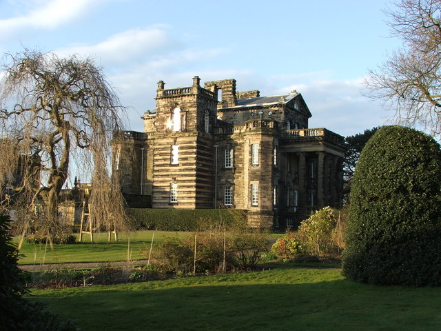 Seaton Delaval Hall West View