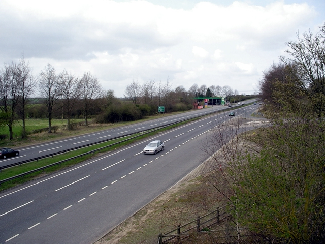 A303 north of Barton Stacey