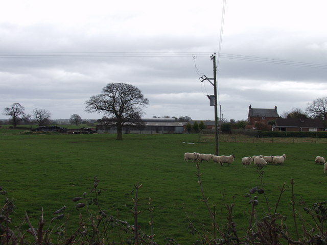 Bartie Farm near Dudleston