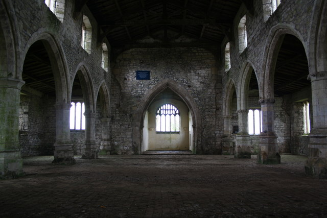 St.Botolph's church interior looking east