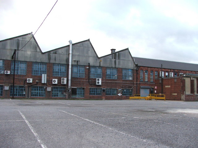 Rear of Beacon Works.