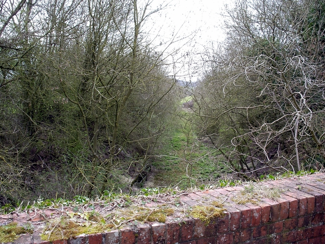 Trackbed of old railway