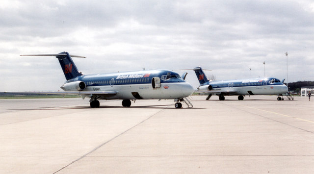 Main apron - Teesside airport
