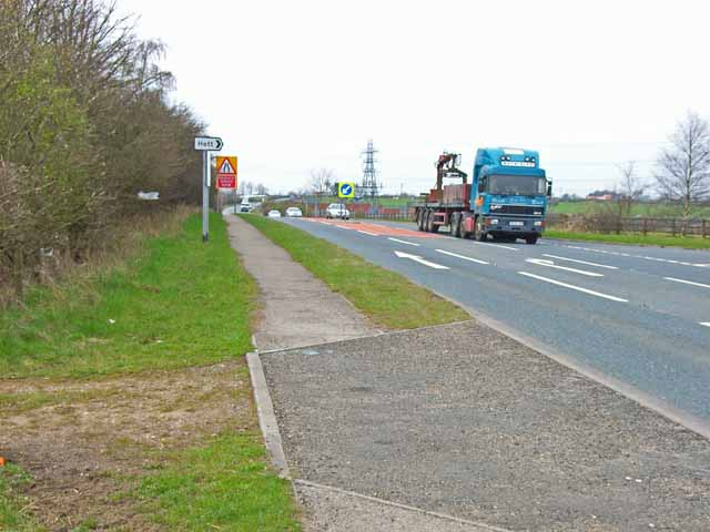 A688 near the Hett turn