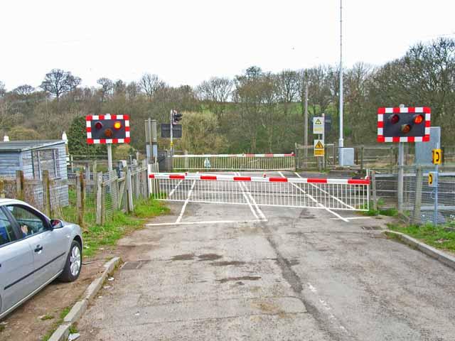 Hett Mill level crossing
