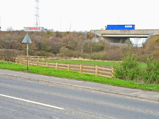 A688 at Metal Bridge