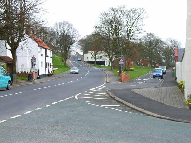 Bishop Middleham village centre