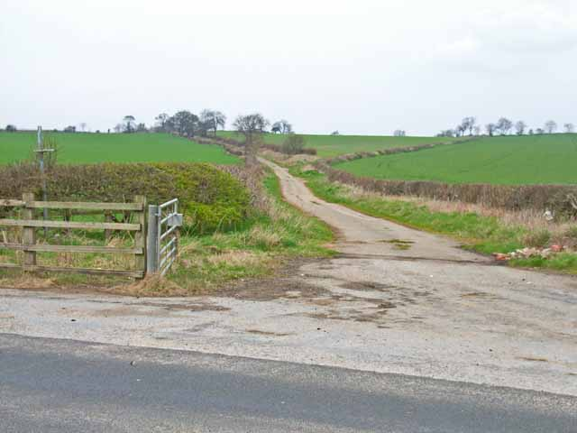 The old road from Bishop Middleham to Cornforth
