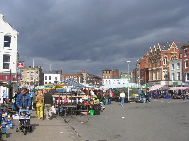 Market Day in Boston