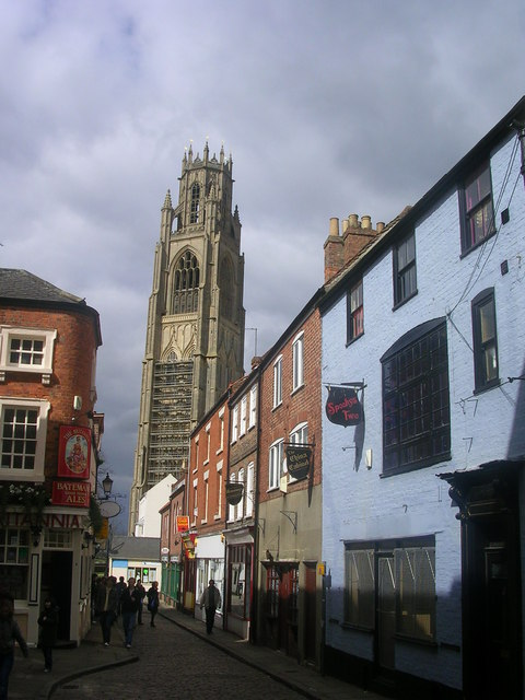 Boston Stump from Church Street