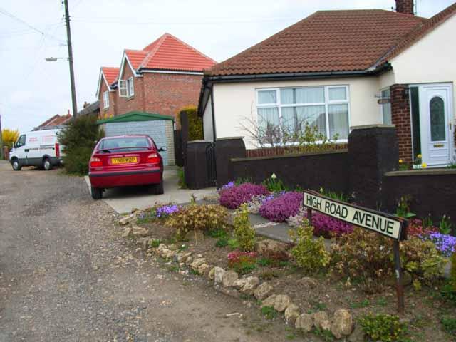 High Road Avenue, Bishop Middleham