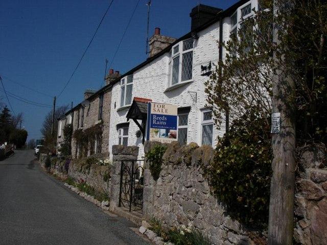 Llysfaen cottages