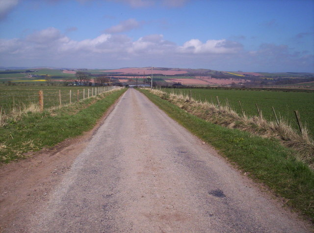 Road to Mill of Garvock