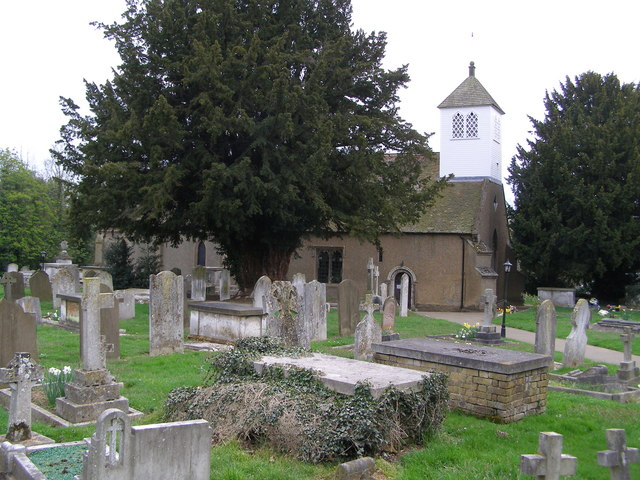 St Laurence Church and graveyard Wormley