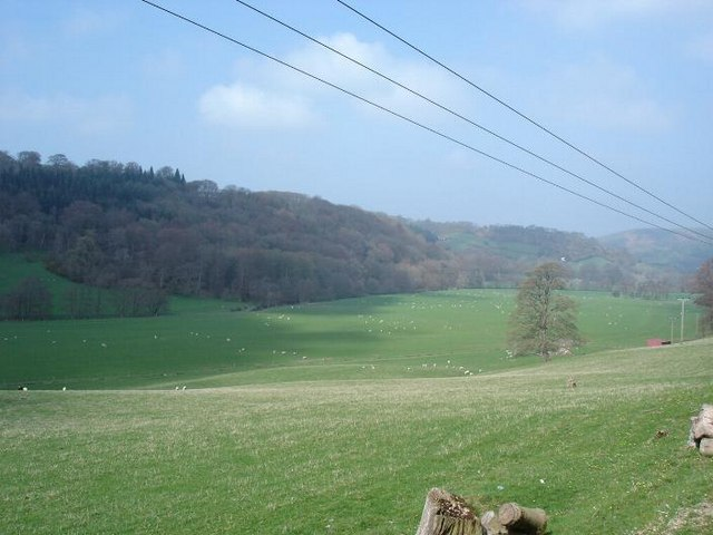 Farmland near Llansannan