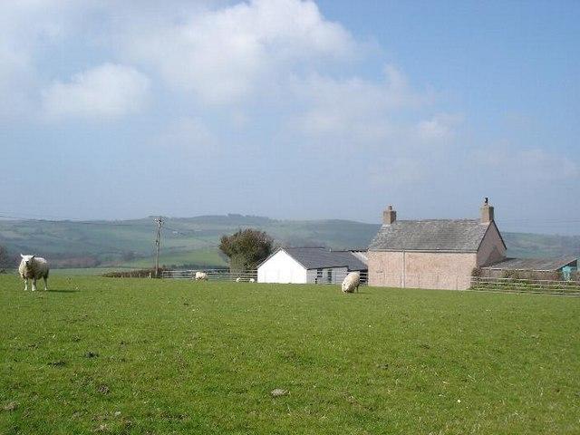 Llansannan farm