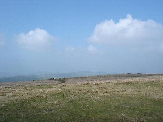 Moorland near Llansannan
