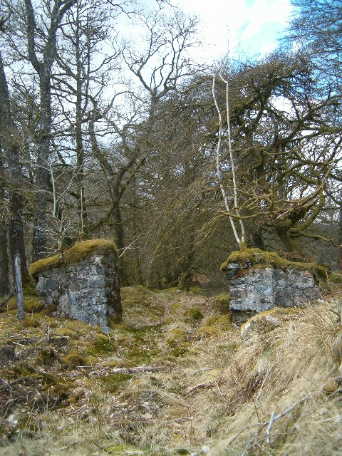An abandoned gateway
