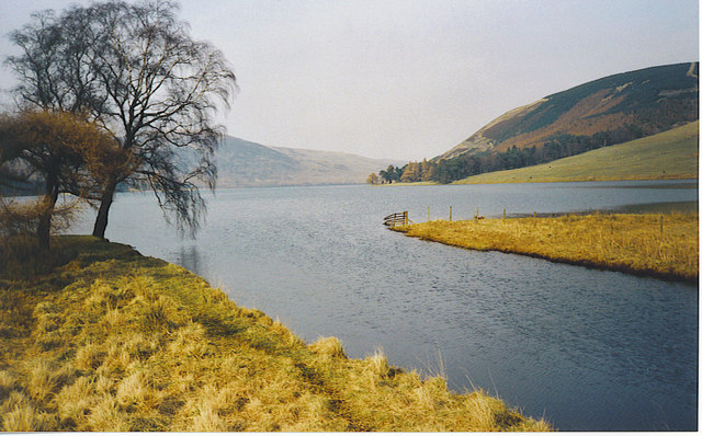 Inflow to St Mary's Loch.