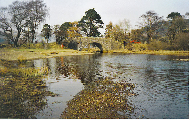 Road Bridge at Head of Loch of the Lowes.