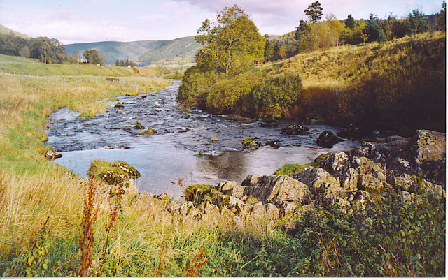 The Young Tweed at Tweedsmuir.