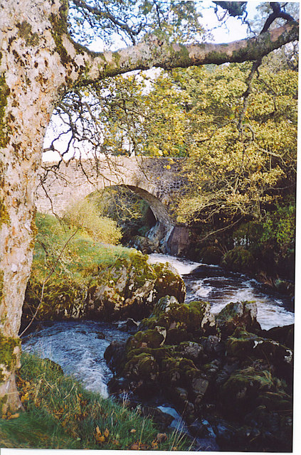 Tweedsmuir Bridge.