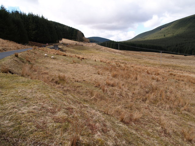 Altrieve Valley and B709