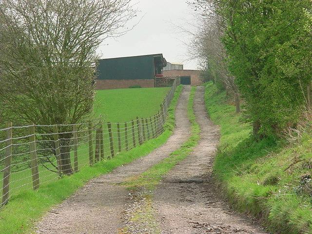 Track to Grove Farm